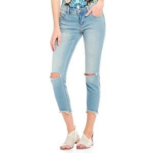 NWOT Free People Cropped Skinny Jeans